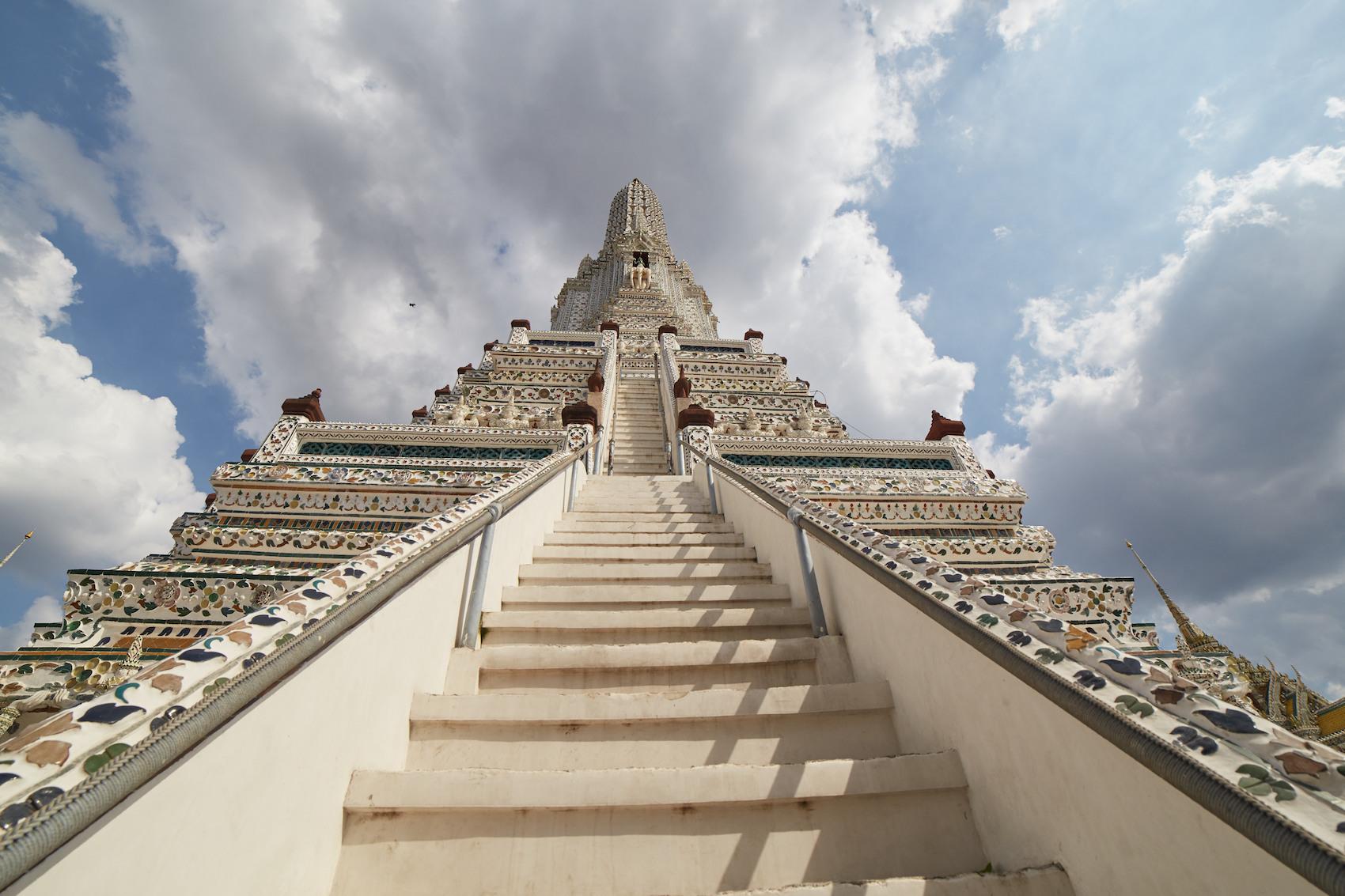 Wat Arun Staircase