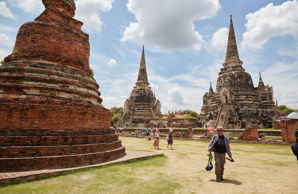 Wat Phra Si Sanphet Wide