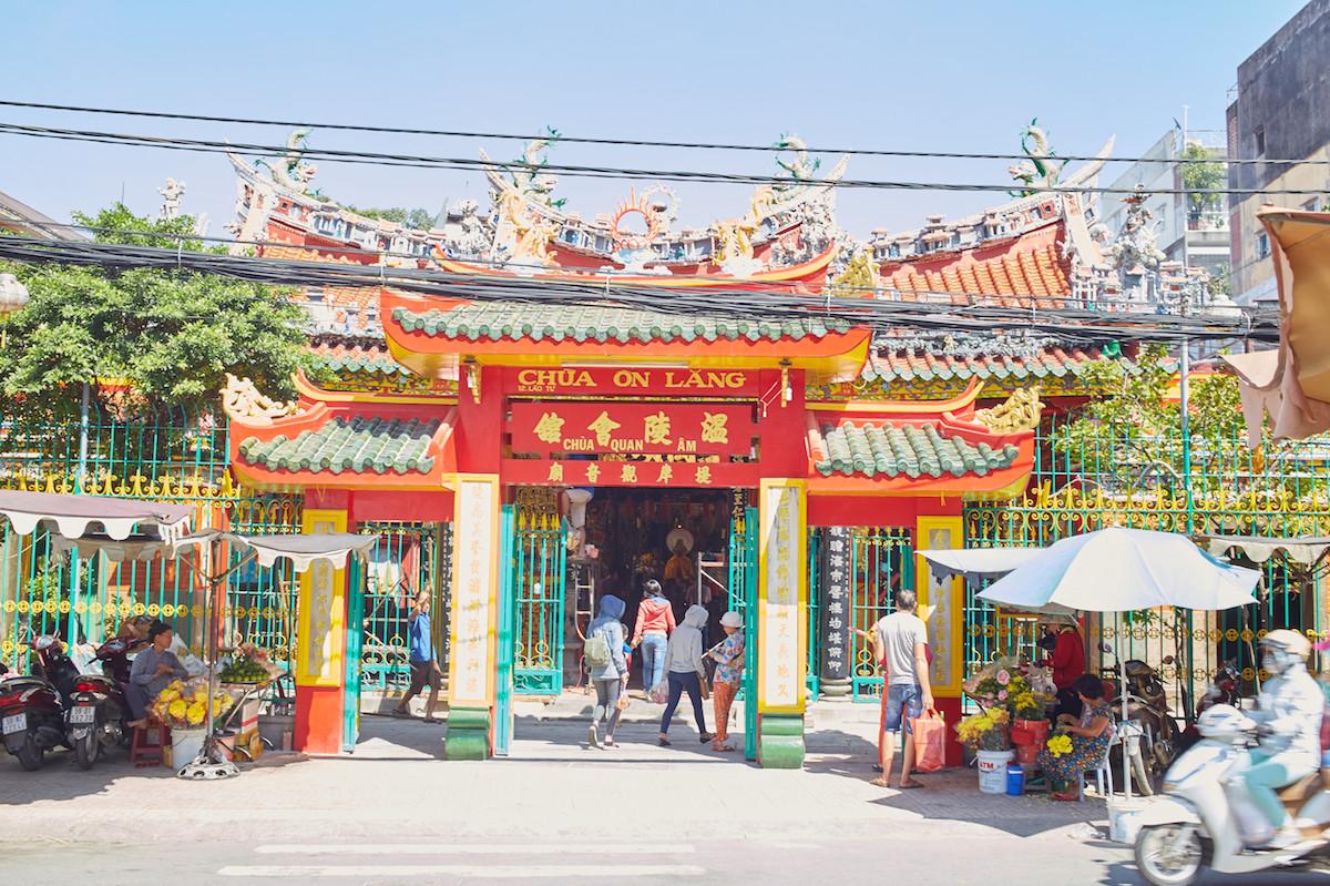 Quan Am Pagoda Cholon Saigon