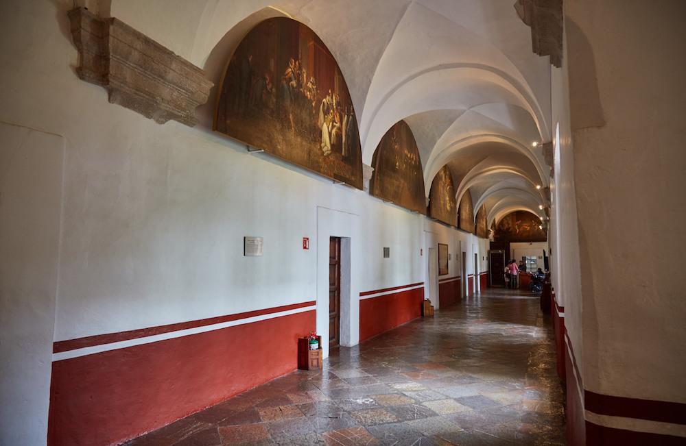 Museo Nacional del Virreinato Hallway