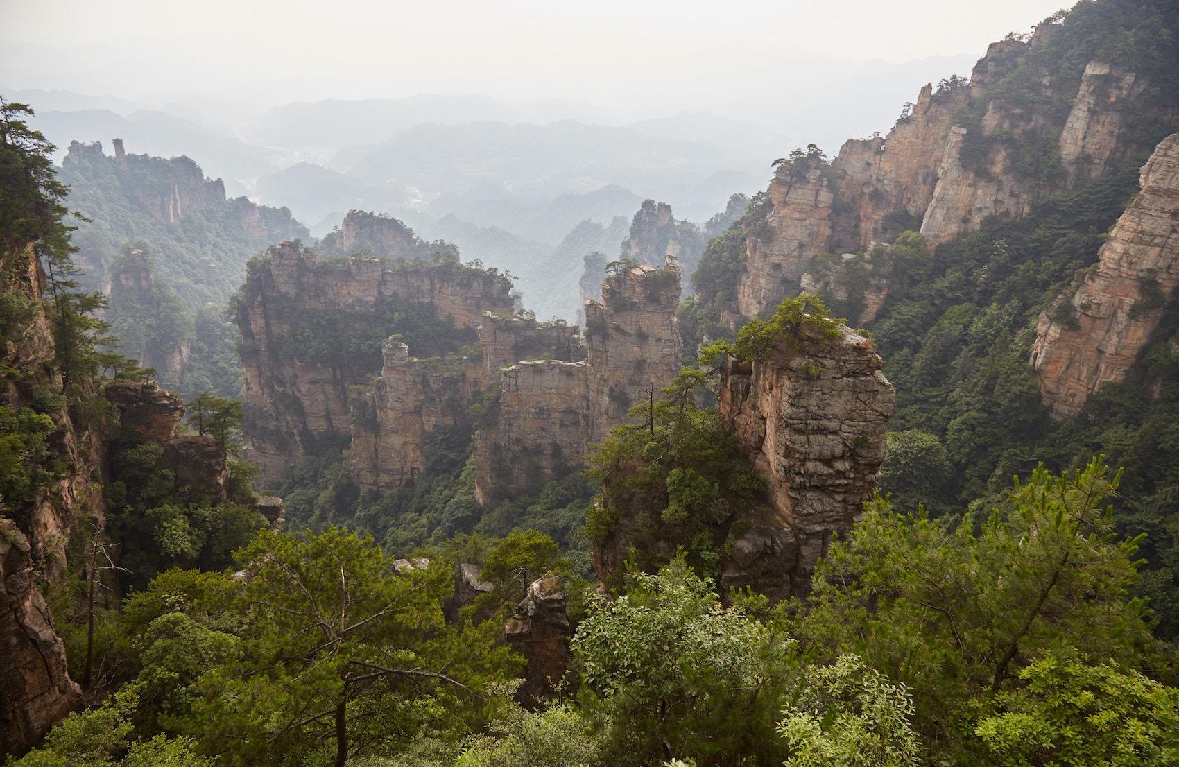Zhangjiajie National Forest Park Yuanjiajie