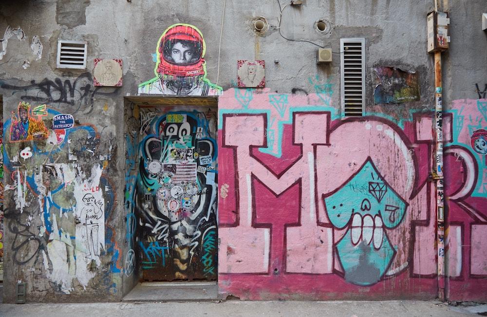 New York City Street Art Bowery