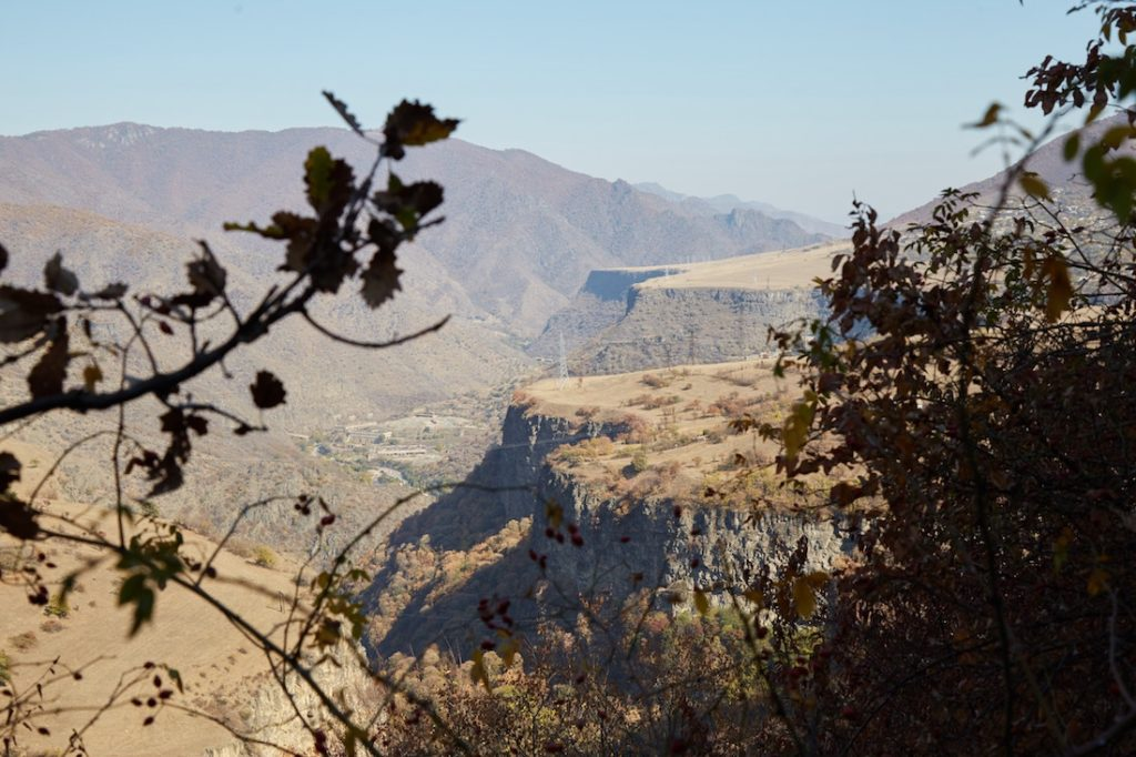Hiking from Sanahin to Haghpat Monastery