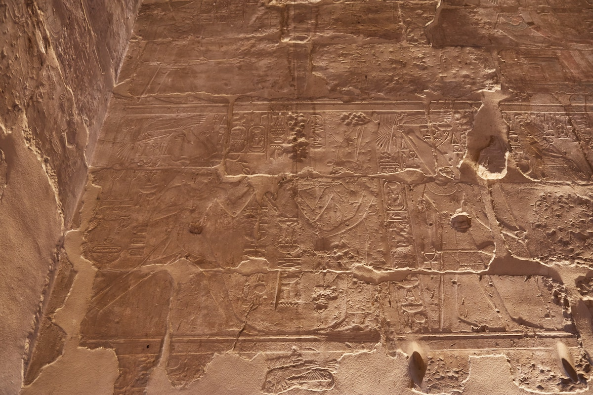 Luxor Temple Hall of Theogamy