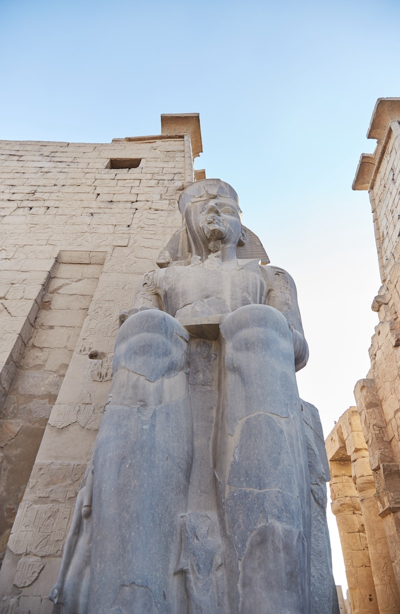 Luxor Temple The Temple of Man