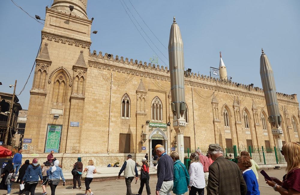 al-Hussain Mosque Cairo