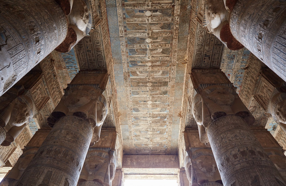 Dendera Temple Hypostyle Hall