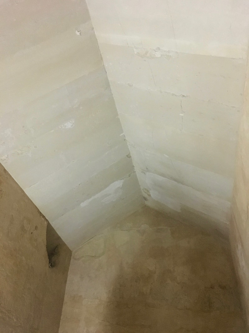 Inside Pyramid of Khafre